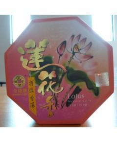 ธูปขดกลิ่นดอกบัว 15ขด 24ชม. Lotus Incense Coils (15 cs. 24hrs.)