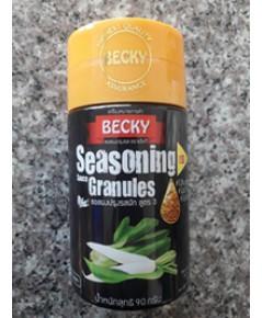 ซอสปรุงรสผักสูตร3 Seasoning Granules Becky(90g)