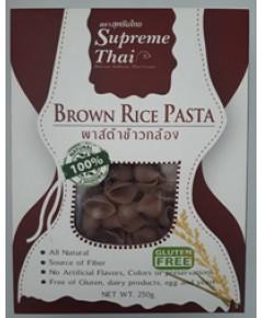 สุพรีมไทย พาสต้าข้าวกล้อง Brown Rice Pasta