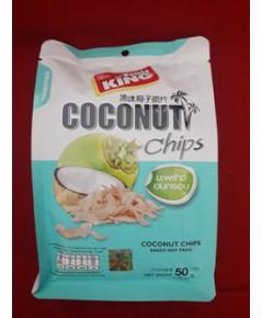 ฟรุ๊ตคิงมะพร้าวอบกรอบ Coconut Chips.
