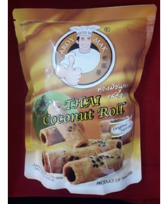 ทองม้วน รสดั้งเดิม Thai Coconut Roll.
