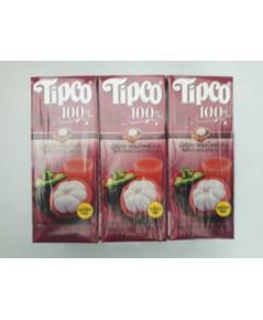 ทิปโก้ น้ำมังคุดผสมผลไม้รวม Tipco Mangosteen  Mixed Fruit Juice.