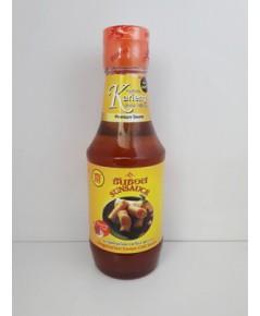 น้ำจิ้มไก่พริกกะเหรี่ยงเจซันซอส Vegetarian Sweet Chili Sauce. Sunsauce