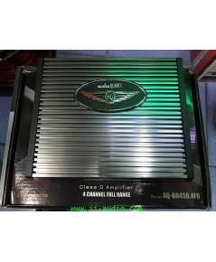 POWER CLASS D 4CH ยี่ห้อ AUDIOQUART รุ่น AQ-BD450.4FD