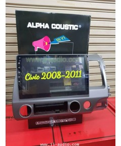 Buile in civic 2008 2 din Alpha coustic