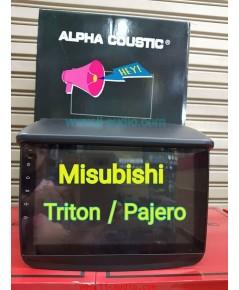 Buile in Triton/Pajero  2010-2014  2 din Alpha coustic