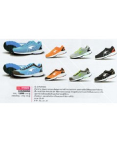 รองเท้าวิ่ง รุ่น G.Running code 370028 size 39 สีส้ม