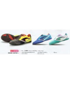 รองเท้าฟุตซอลหนังสังเคราะห์ รุ่น Grand United L code 337005 size 44 สีดำ