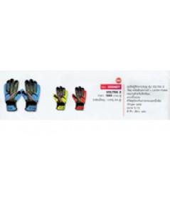 ถุงมือผู้รักษาประตู หนังสังเคราะห์  Latex Foam รุ่น Voltra 2 code 333427 size 8 สีฟ้า