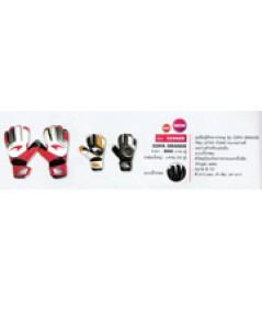 ถุงมือผู้รักษาประตู Latex Foam รุ่น Copa Grande code 333428 size 7 สีขาวแดง