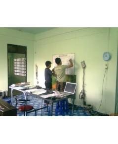 นักเรียนสนใจมากขึ้นเพราะอาจารย์จบมาจากปรเทศอังกฤษ