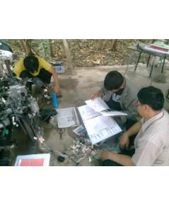สอนวายริ่งสายไฟตระกูล 1JZ-GE-2JZ-GE-2JZ-GTE-1JZ-GTE VVTI -4A-FE-5A-FE-3S-FE-1UZ-4S-FE HONDA ทั้งระบบ