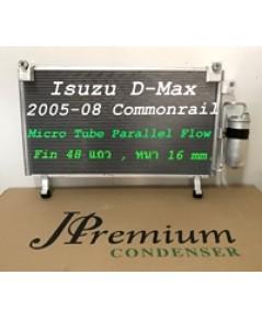 แผง CONDENSER ISUZU D-MAX COMMONRAIL \'05-\'08