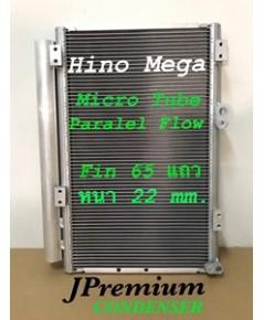 แผง CONDENSER HINO MEGA