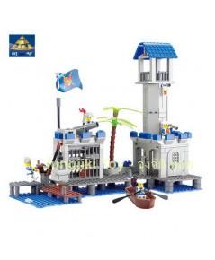 เลโก้บล็อกชุดป้อมสกัดโจรสลัด 365 ชิ้น ในชุด Pirate King