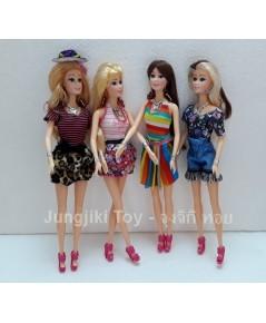 ตุ๊กตาบาร์บี้สี่สาวแฟชั่นซัมเมอร์เฟรนด์ชิพ ขนาด 12 นิ้ว