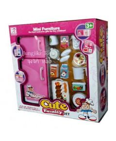 ของเล่นตู้เย็นสำหรับเด็ก ขนาด 7 นิ้ว