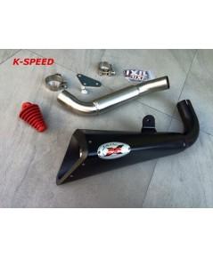 ท่อสูตร Ixil X55B Slip On For KTM Duke 390