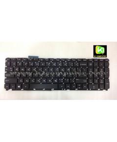HP COMPAQ Keyboard คีย์บอร์ด HP EnvyTouchsmart 15-J 17-J Keyboard (TH-EN)