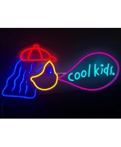 ป้ายไฟ Cool kids