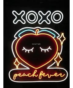 ป้ายไฟ Peach Fever