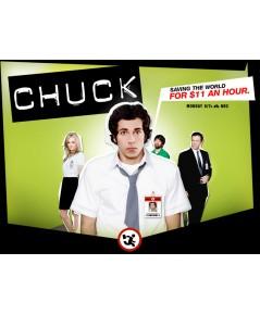 Chuck: The Complete First Season/ ชัค สายลับสมองล้น ปี 1 ดีวีดี 4 แผ่น บรรยายไทย new+++