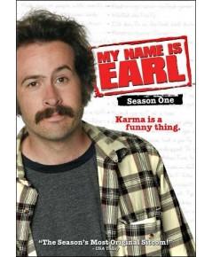 My name is earl season 1 DVD บรรยายไทย 4 แผ่นจบ