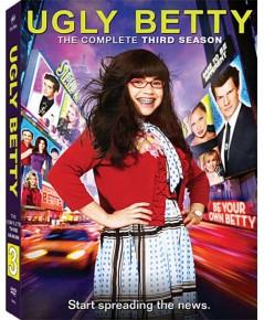 Ugly Betty Season 3 อั๊กลี่ เบ็ตตี้ สาวเปิ่นขอเดิ้น ปี 3 DVD บรรยายไทย 6 แผ่น