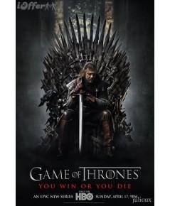 Game of Thornes season 1 ดีวีดี บรรยายไทย 5 แผ่นจบ