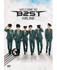BEAST The 1st Concert Welcome To BEAST Airline ดีวีดี 3 แผ่น