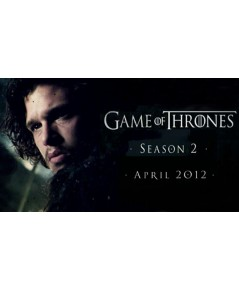 Game of Throne Season 2 ดีวีดี บรรยายไทย 5 แผ่นจบ
