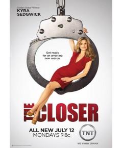 The Closer season 6 / จ้าวแห่งการปิดคดี ปี 6 DVD บรรยายไทย 4 แผ่นจบ*อัดทรูฯ