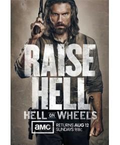 Hell on Wheels Season 1+season 2 ดีวีดี บรรยายไทย รวม 6 แผ่นจบ