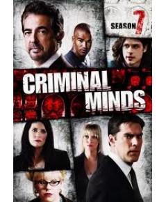 Criminal Minds Season 7/คริมินอลไมน์ อ่านเกมอาชญากร ปี 7 DVD บรรยายไทย 5 แผ่นจบ*master