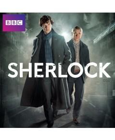 Sherlock Season 1 อัจฉริยะยอดนักสืบ ปี 1 ดีวีดี บรรยายไทย 3 แผ่นจบ