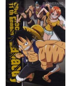 One Piece Season 11 [Sabaody] พากย์ไทย-บรรยายไทย DVD แผ่น 97-101 (ตอนที่ 385-404) 5 แผ่น
