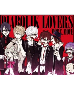 Diabolik Lovers / DVD จำนวน 3 แผ่นจบ (บรรยายไทย) 12 ตอนจบ + ตอนพิเศษ