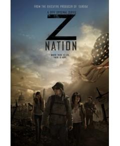 Z Nation season 1 ดีวีดี บรรยายไทย 4 แผ่นจบ