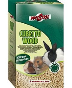 Cubetto Wood ขี้เลื่อยอัดเม็ด บรรจุ 7 กิโลกรัม