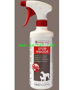 STOP INDOOR สต็อปอินดอร์ สำหรับ สุนัข แมว บรรจุ 500 ml.