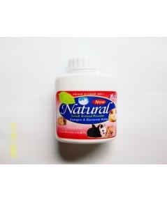 แป้งสมุนไพร Natural ป้องกัน ยับยั้งเชื้อรา และแบคทีเรีย บรรจุ 30 กรัม