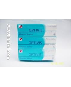 OPTIVIS ขี้ผึ้งป้ายตา ใช้รักษาเปลือกตาอักเสบ เยื่อตาอักเสบ บรรจุ 1 หลอด