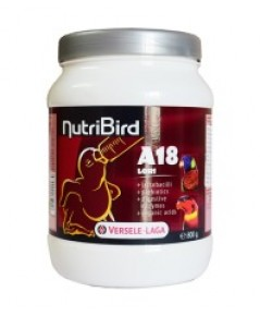 Nutribird A18 อาหารลูกป้อนนกโลลีโต บรรจุ 800 กรัม