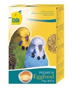 Cede Budgie อาหารไข่ นกปากขอขนาดเล็ก สูตรบำรุงขน ผิวหนัง ร่างกาย บรรจุ 1 kg.