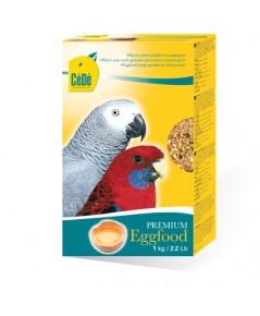C.D PREMIUM อาหารไข่ สูตรบำรุงขน บำรุงร่างกาย สำหรับนกแก้วปากขอทุกชนิด บรรจุ 2 กิโลกรัม