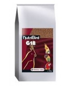 Nutribird G18 สูตรออริจินอล สำหรับนกพารากีส บำรุงพ่อแม่พันธุ์ นกผลัดขน บรรจุ 10 กิโลกรัม