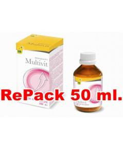 CeDe Multi vitamin วิตามินรวมชนิดน้ำเข้มข้น แบ่งจำหน่าย 50 ml.