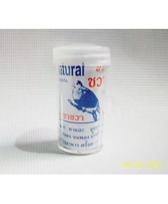 ชวาวงศ์ สมุนไพรรักษาท้องเสีย หวัดตา เสียงแหบ ขนพอง คอตก ระบบหายใจ ใช้ได้กับนกทุกชนิด บรรจุ 12 กระปุก