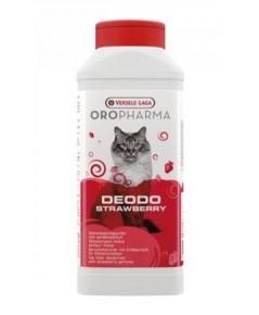 Deodo Strawberry ผงระงับกลิ่นไม่พึงประสงค์ของสัตว์เลี้ยง กลิ่นสตอเบอร์รี่ บรรจุ 750 กรัม