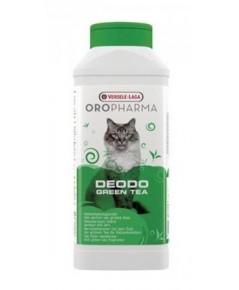 Deodo Green Tea ผงระงับกลิ่นไม่พึงประสงค์ของสัตว์เลี้ยง กลิ่นชาเขียว บรรจุ 750 กรัม
